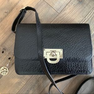 DKNY leather crossbody
